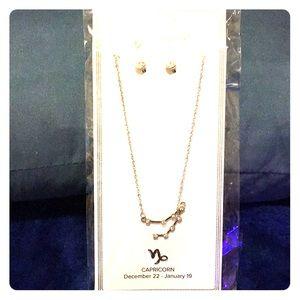 Capricorn ♑️ constellation necklace